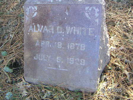 WHITE, ALVA - Polk County, Iowa | ALVA WHITE