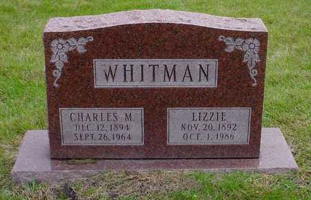 WHITMAN, CHARLES M. - Polk County, Iowa | CHARLES M. WHITMAN