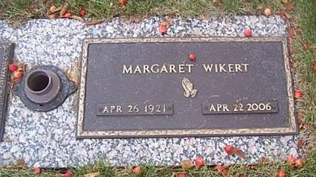 WIKERT, MARGARET - Polk County, Iowa | MARGARET WIKERT