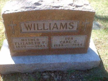 WILLIAMS, CARL C. - Polk County, Iowa | CARL C. WILLIAMS