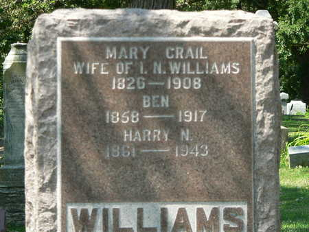 CRAIL WILLIAMS, MARY - Polk County, Iowa | MARY CRAIL WILLIAMS