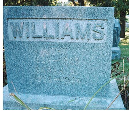 WILLIAMS, SARAH A - Polk County, Iowa | SARAH A WILLIAMS