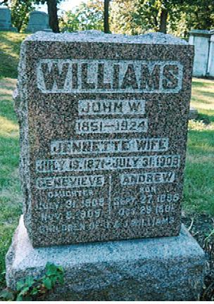 WILLIAMS, JENNETTE - Polk County, Iowa | JENNETTE WILLIAMS