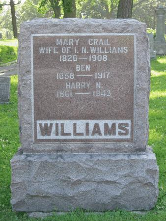 CRAIL WILLIAMS, MARY I. - Polk County, Iowa | MARY I. CRAIL WILLIAMS