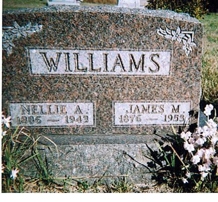 WILLIAMS, NELLIE  A - Polk County, Iowa | NELLIE  A WILLIAMS