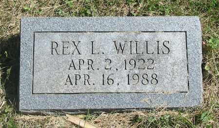 WILLIS, REX L. - Polk County, Iowa | REX L. WILLIS