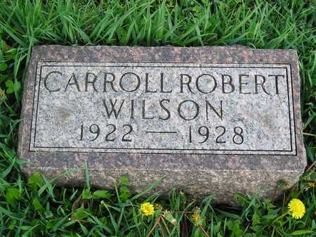 WILSON, CARROLL ROBERT - Polk County, Iowa | CARROLL ROBERT WILSON