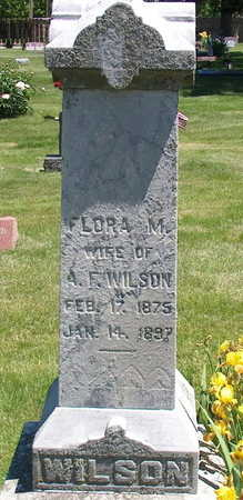 WILSON, FLORA MAY - Polk County, Iowa | FLORA MAY WILSON