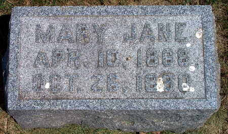 WILSON, MARY JANE - Polk County, Iowa | MARY JANE WILSON