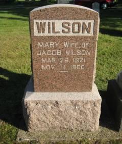WILSON, MARY - Polk County, Iowa | MARY WILSON