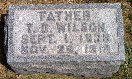 WILSON, T. D. - Polk County, Iowa | T. D. WILSON