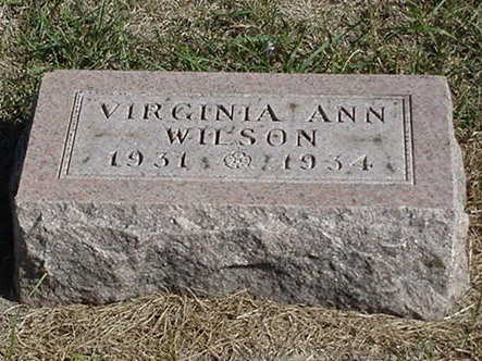 WILSON, VIRGINIA ANN - Polk County, Iowa | VIRGINIA ANN WILSON