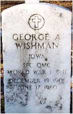 WISHMAN, GEORGE A. (WINK) - Polk County, Iowa | GEORGE A. (WINK) WISHMAN