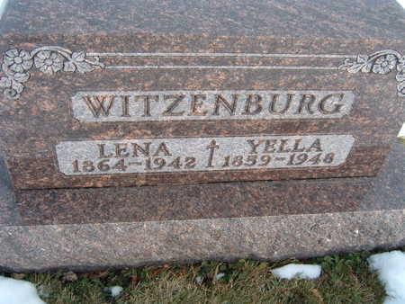 WITZENBURG, LENA - Polk County, Iowa | LENA WITZENBURG