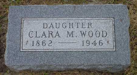 WOOD, CLARA M. - Polk County, Iowa | CLARA M. WOOD