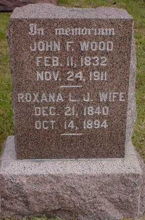 WOOD, JOHN F. - Polk County, Iowa | JOHN F. WOOD
