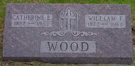 WOOD, WILLIAM F. - Polk County, Iowa | WILLIAM F. WOOD