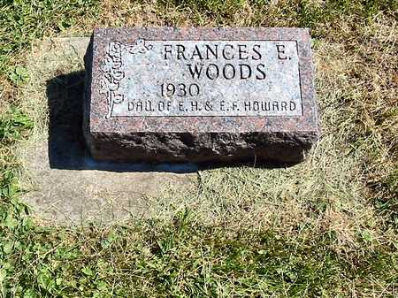 WOODS, FRANCES E. - Polk County, Iowa | FRANCES E. WOODS