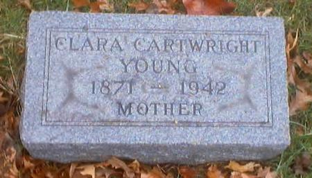 CARTWRIGHT YOUNG, CLARA - Polk County, Iowa | CLARA CARTWRIGHT YOUNG