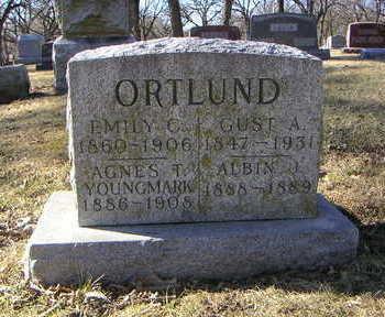 YOUNGMARK ORTLUND, AGNES T. - Polk County, Iowa | AGNES T. YOUNGMARK ORTLUND
