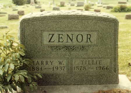 ZENOR, TILLIE A - Polk County, Iowa | TILLIE A ZENOR