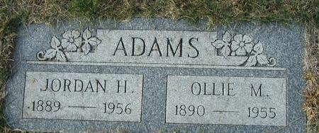 ADAMS, OLLIE MYRTLE - Pottawattamie County, Iowa | OLLIE MYRTLE ADAMS