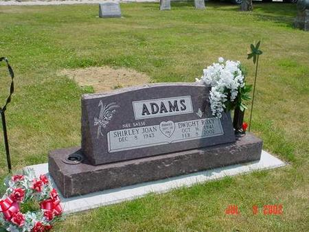 ADAMS, SHIRLEY JOAN SASSE - Pottawattamie County, Iowa | SHIRLEY JOAN SASSE ADAMS