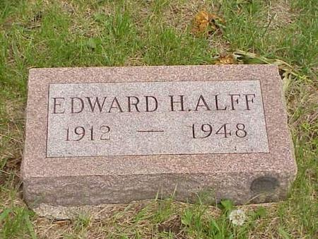ALFF, EDWARD H. - Pottawattamie County, Iowa | EDWARD H. ALFF