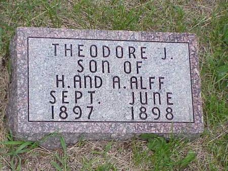 ALFF, THEODORE J. - Pottawattamie County, Iowa | THEODORE J. ALFF