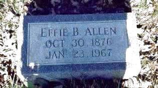 ALLEN, EFFIE BLANCHE - Pottawattamie County, Iowa | EFFIE BLANCHE ALLEN