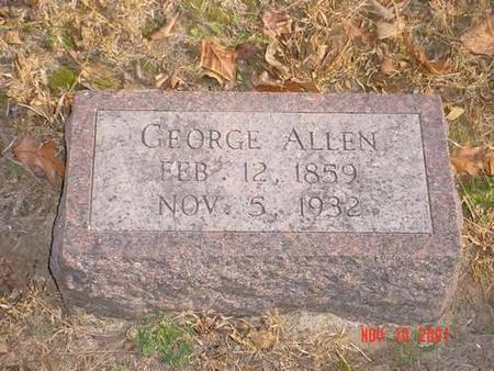 ALLEN, GEORGE - Pottawattamie County, Iowa | GEORGE ALLEN