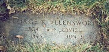 ALLENSWORTH, GEORGE K. - Pottawattamie County, Iowa | GEORGE K. ALLENSWORTH