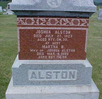 ALSTON, MARTHA - Pottawattamie County, Iowa | MARTHA ALSTON