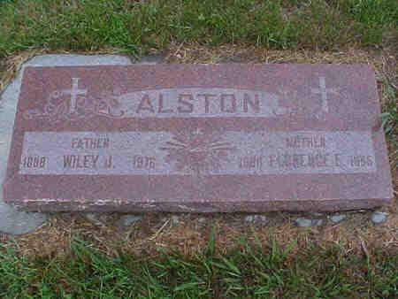 ALSTON, FLORENCE E. - Pottawattamie County, Iowa | FLORENCE E. ALSTON