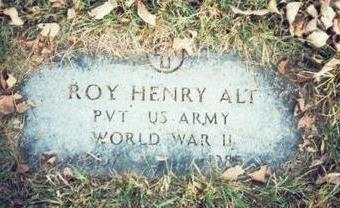 ALT, ROY HENRY - Pottawattamie County, Iowa | ROY HENRY ALT