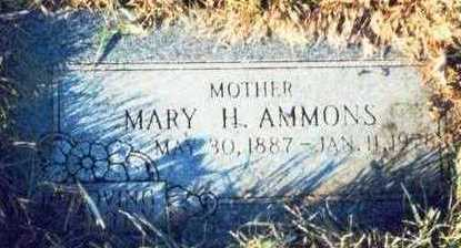 AMMONS, MARY H. - Pottawattamie County, Iowa | MARY H. AMMONS