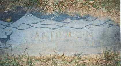ANDERSEN, ARTHUR J. - Pottawattamie County, Iowa | ARTHUR J. ANDERSEN