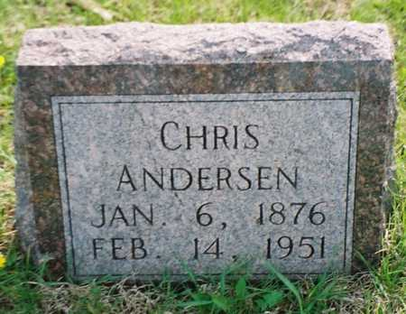 ANDERSEN, CHRIS - Pottawattamie County, Iowa | CHRIS ANDERSEN