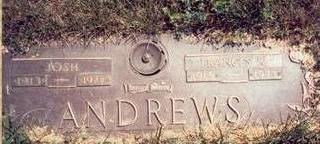 ANDREWS, FRANCES RUBY - Pottawattamie County, Iowa | FRANCES RUBY ANDREWS