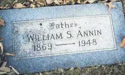 ANNIN, WILLIAM S. - Pottawattamie County, Iowa | WILLIAM S. ANNIN