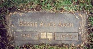 ARCH, BESSIE ALICE - Pottawattamie County, Iowa | BESSIE ALICE ARCH