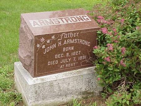 ARMSTRONG, JOHN H. - Pottawattamie County, Iowa | JOHN H. ARMSTRONG