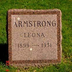 ARMSTRONG, LEONA [FRAIN] - Pottawattamie County, Iowa | LEONA [FRAIN] ARMSTRONG