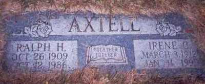 AXTELL, IRENE C. - Pottawattamie County, Iowa | IRENE C. AXTELL