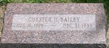 BAILEY, CHESTER H. - Pottawattamie County, Iowa | CHESTER H. BAILEY
