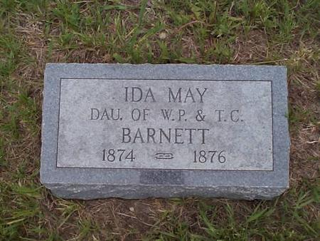 BARNETT, IDA MAY - Pottawattamie County, Iowa | IDA MAY BARNETT