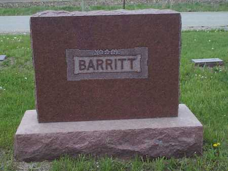 BARRITT, FAMILY STONE - Pottawattamie County, Iowa | FAMILY STONE BARRITT