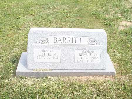 BARRITT, LOTTIE M. - Pottawattamie County, Iowa | LOTTIE M. BARRITT