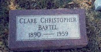 CHRISTOPHER BARTEL, CLARE - Pottawattamie County, Iowa | CLARE CHRISTOPHER BARTEL