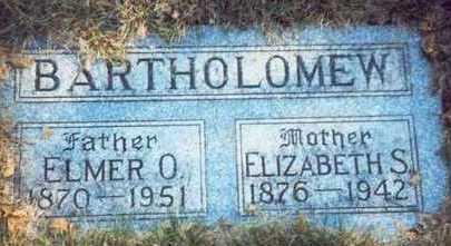 NUZUM BARTHOLOMEW, ELIZABETH SARAH - Pottawattamie County, Iowa | ELIZABETH SARAH NUZUM BARTHOLOMEW